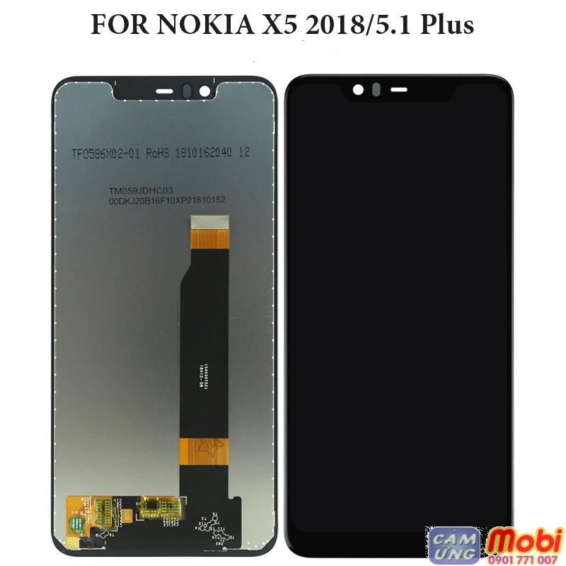 Mặt kính màn hình nokia 5.1 plus, nokia x5 2018 2