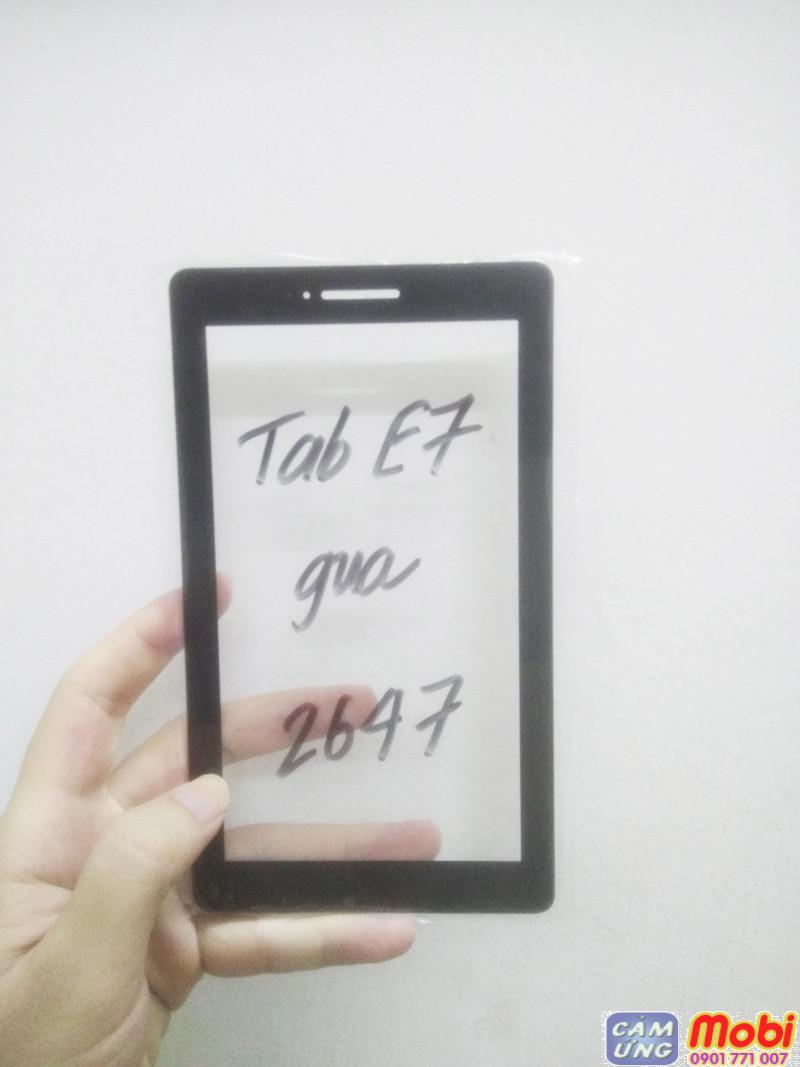 thay mặt kính lenovo tab e7 tb-7104l chính hãng