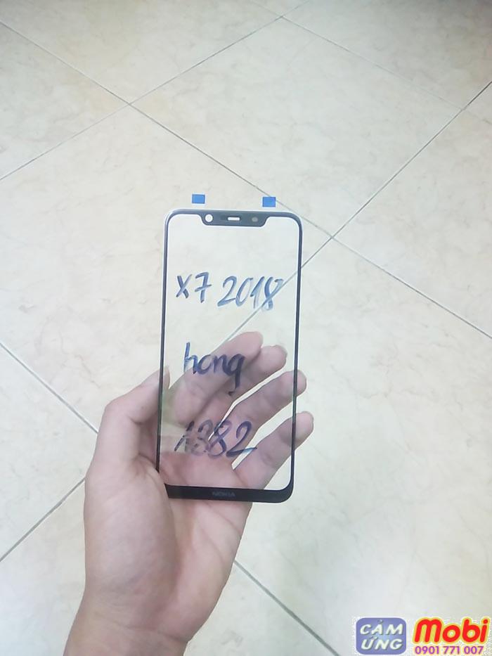 Mặt kính nokia 8.1, thay màn x7 2018 chính hãng 5